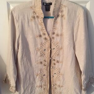 Carole Little Tops - Lightweight fancy jacket